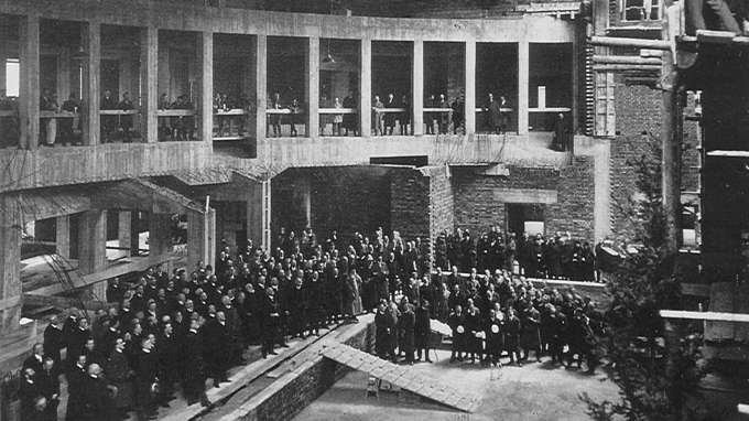 History of the physics department of tum