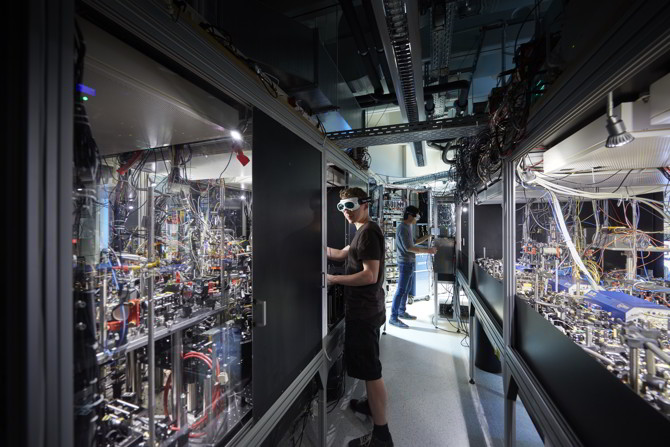 Quantum Optics Lab at Max-Planck-Institute for Quantum Optics (MPQ). Photo: MCQST.