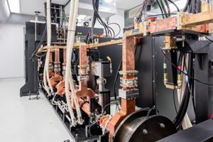 Munich Compact Light Source an der Munich School of Bioengineering (MSB). Photo: Andreas Heddergott (TUM).