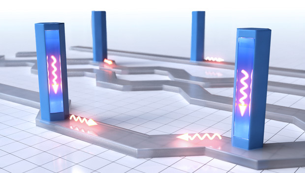 Quantum wires as optical circuits